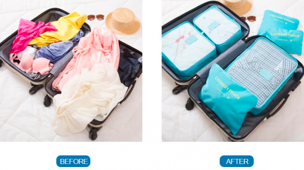 Packing Cubes | 4 good reasons to use them